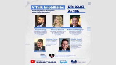 Cláudio Tessari é palestrante do V Talk Imobiliário
